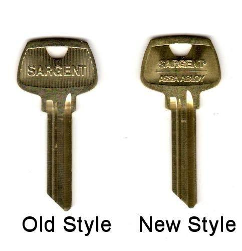 Factory Original Sargent 6 Pin Key Blank 6275 LC Keyway Pkg of 10