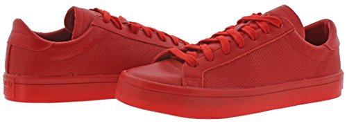 Red Shoes Scarlet Adicolor Adidas Red Court S80253 Mens Vantage wqx6g8v