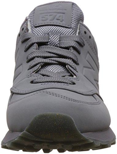 Grey Scarpe New 574 Balance Ginnastica Grigio Basse da Donna nqw8OWB4wU