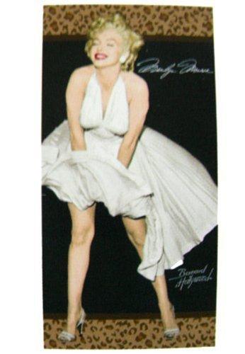 Marilyn Monroe Beach Towel Leopard [並行輸入品] B07RGFK4VR