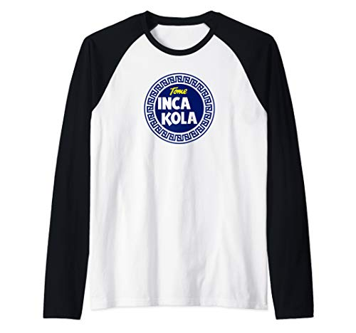 Inca Kola Retro Incas Peru Orgullo Shirt Long Sleeve T-Shirt Raglan Baseball Tee