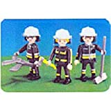 7714 bags Playmobil playmobil 3 people of firefighters (Orion Corporation)
