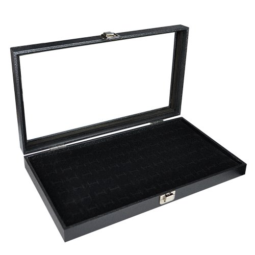 glass-top-black-jewelry-display-case-with-72-slot-ring-tray-14-3-4w-x-8-1-4d-x-2-1-8h