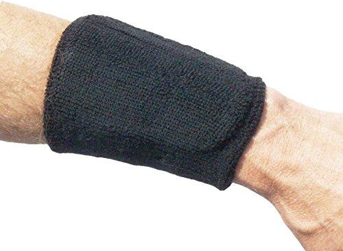 Unique Sports Hot Glove Baseball Wrist Shield (Black)