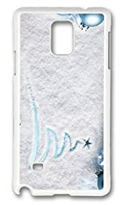 Adorable christmas ornament Hard Case Protective Shell Cell Phone HTC One M8 - PC White