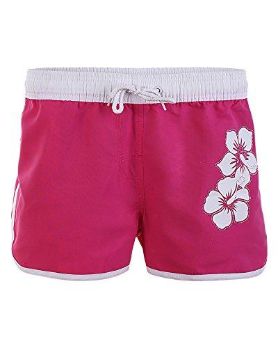 Summer Swim Shorts Jack 1252-f6045 neon pink,size Large