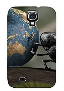 Perfect Fit OddvQsQ1171DkHXq Beetle Rolling Our Planet Case For Galaxy - S4