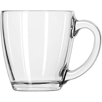 Amazon Com Anchor Hocking Rio Glass Mug Coffee Glass