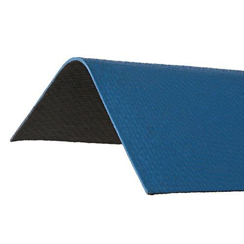 Asphalt Roof (ONDURA 5255 Corrugated Asphalt Roof Ridge Cap, Blue)
