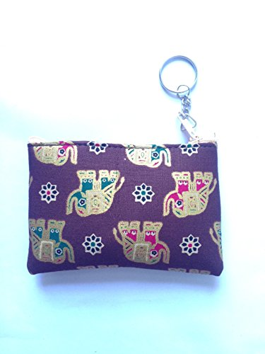 thaienjoy-coin-purse-chang-color-brown