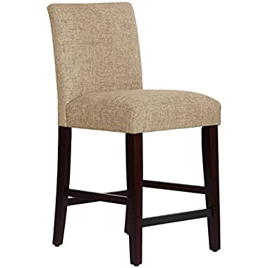 Skyline Furniture Uptown Counter Stool, Zuma Linen