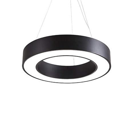 Lampade Per Ufficio Prezzi.Vinteen Metallo Lampadario Led Hollow Circle Lampade Da Sospensione