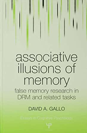 false memory essay Free college essay false memories false memories: false memories are memories of events or situations that did not, in fact, occur these recollections of.