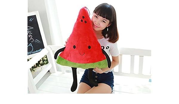 tfxwerws creativo novedad juguete peluche dibujos animados sandía frutas almohada: Amazon.es: Hogar