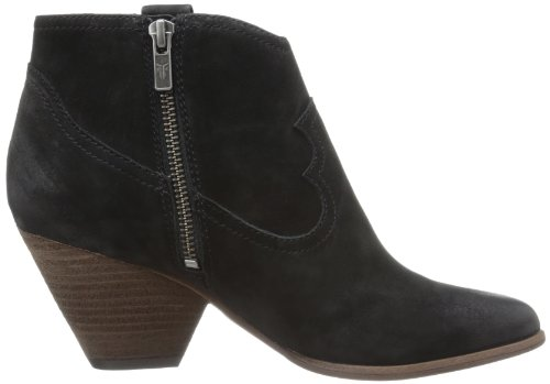 mujer la Nubuck Frye Black de Ankle Boot Buffed Reina Fx6wP