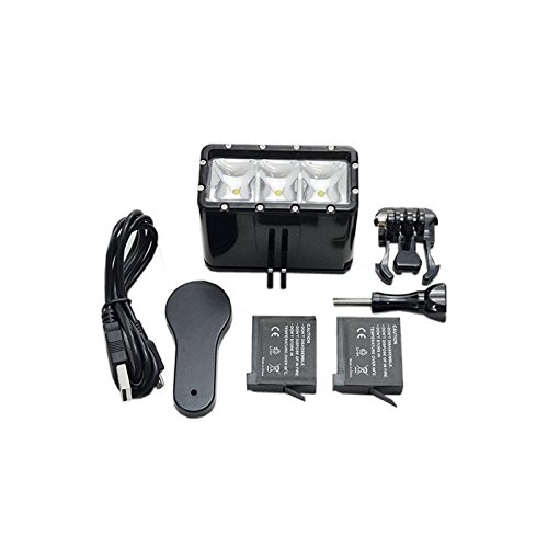 (Bestshoot 30M Waterproof LED Video Light Fill Night Light)