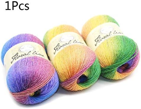 Follwer0 - Ovillo de lana de algodón suave para tejer prendas de ...