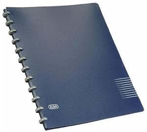Elba manageMe - Carpeta profesional con anillas, color azul - 5 unidades