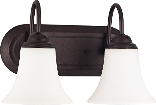 Nuvo Lighting 60/1853 Two Light Fixture Vanity, Dark Chocolate Bronze