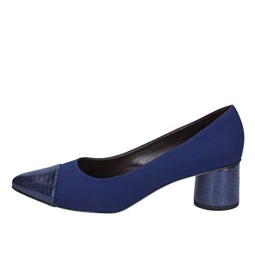 Brunate Pumps Damen 41 EU Blau Textil