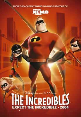 The Incredibles - Advance Movie Poster