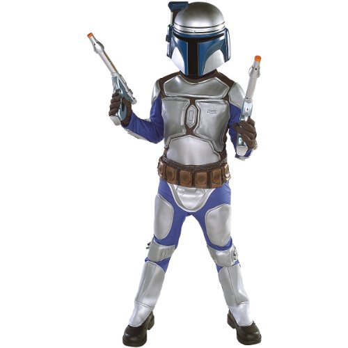 Star Wars Jango Fett Deluxe Child Costume(Medium-As Shown)]()