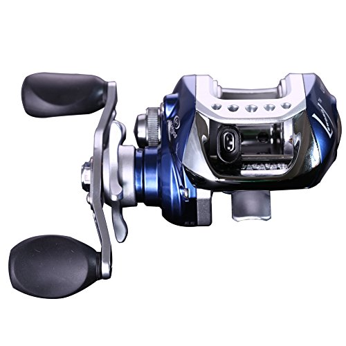 Sougayilang Baitcast Reel (0.3mm/100m, Right- Handed)