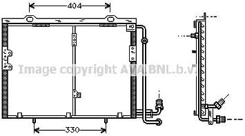Condensateur Pour Climatisation Climat Refroidisseur Mercedes Benz Classe C w202 s202