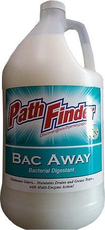 Pathfinder 680-004500 Bac Away Enzyme Bacterial Digestant Odor Eliminator 4-1gal