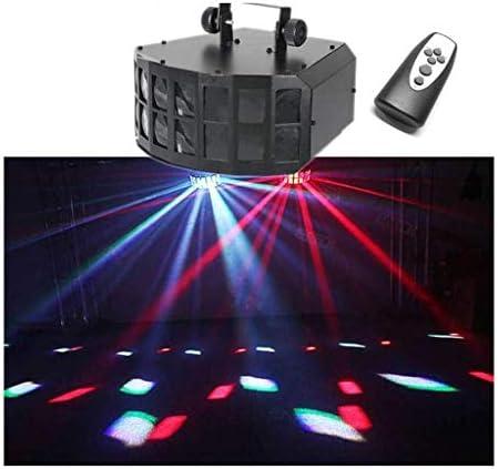ダンスギフトKTVのために7色のパーティーステージライト、RGB段階プロジェクションランプ音声コントロールは、リモートコントロールステージストロボライトディスコフラッシュ照明