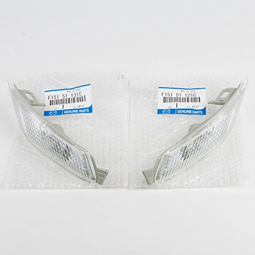 Genuine OEM Mazda RX8 Front Clear Side Marker Lense Set (Right & - Set Marker Lens