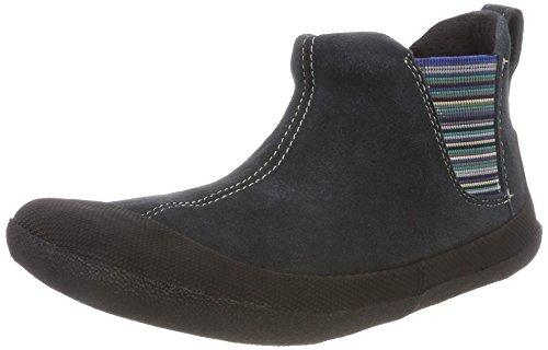 Sole Runner Mädchen Portia SPS Chelsea Boots Blau (Blue/Black)