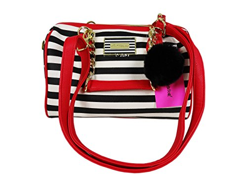 Betsey Johnson Satchel Convertible Shoulder Handbag