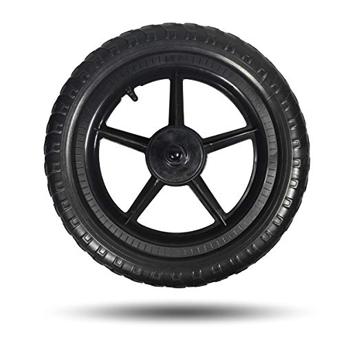 12 Inch Bike Wheel - Replacement Balance Bike Wheels, 12 Inch EVA Polymer Foam Tire Air Free Tire, Don't Fit Strider Balance Bike