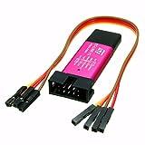 HiLetgo ST-Link V2 Emulator Downloader Programmer STM32F103C8T6 STM8 STM32 w/Cable (Random Color)
