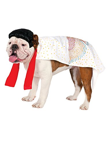 Rock N Roll King Pet Costumes - Elvis Pet Cape,