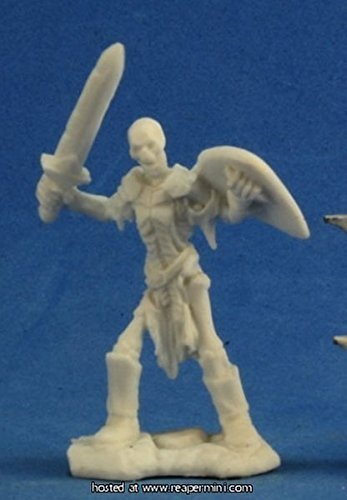 Miniature Skeleton - Bones Skeleton Guardian Sword (3) Miniature Reaper