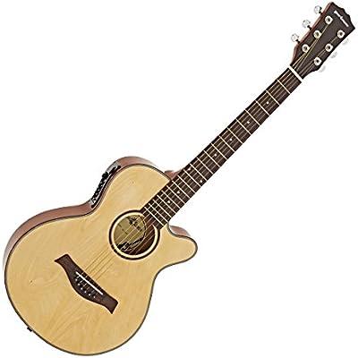 Guitarra Electroacustica Single Cutaway de 3/4 + Pack de ...