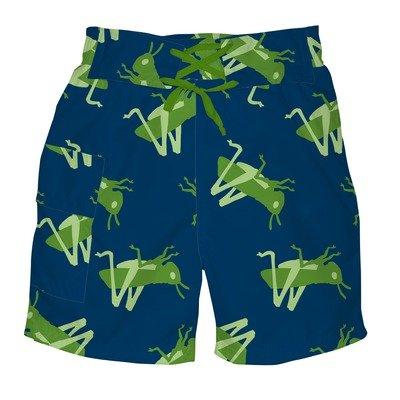 i play. Baby Boys' Ultimate Swim Diaper Pocket Navy Grasshopper Trunk Short