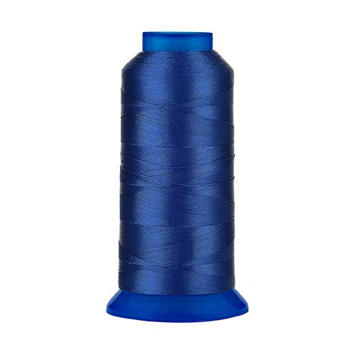 (Selric 1500Yards/26 Colors Available UV Resistant High Strength Polyester Thread #69 T70 Size 210D/3 for Upholstery, Outdoor Market, Drapery, Beading, Purses, Leather (Royal Blue))