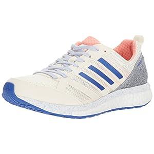 adidas Women's Adizero Tempo 9 w, Hi-Res Orange/Hi-Res Blue/Legacy, 6 M US