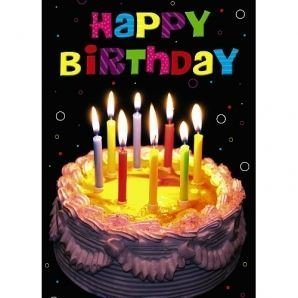 Amazon happy birthday 3d holographic greetings card toys games happy birthday 3d holographic greetings card m4hsunfo