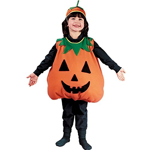 Pumpkin Toddler Plump Costume Large