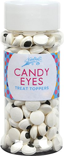 Festival Candy Eyes Treat Toppers, 2.9 Ounce]()