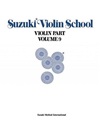 (Suzuki Violin School, Vol 9: Violin Part)