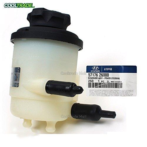 (Genuine for 01-06 Hyundai Santa Fe Power Steering Pump Reservoir OEM 57176-26000)