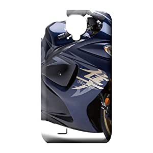 samsung galaxy s4 cell phone carrying covers High-end Excellent Fitted series hayabusa suzuki blue bike