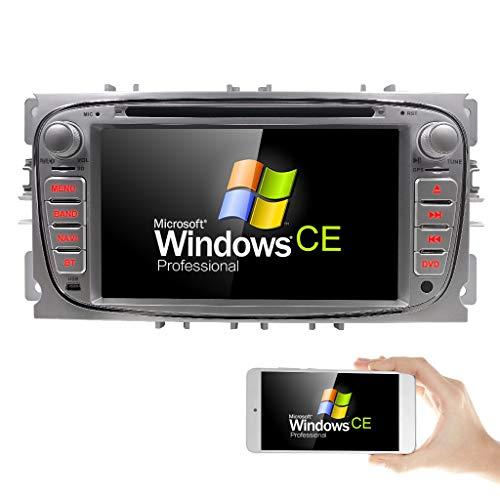 Car DVD Radio Stereo Fascia FacIa Panel Frame For FORD Focus