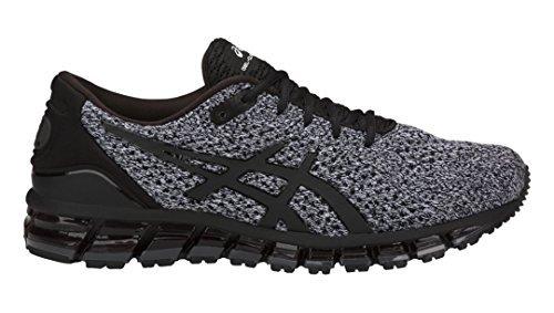 ASICS Men's Performance GEL-Quantum 360 Knit Running Shoe - T840N.9001 (Black/White/Black - 11.5)