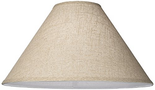 Fine Burlap Empire Shade 6x19x12 (Spider) by Brentwood (Image #1)